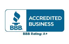A+ BBB Certified logo