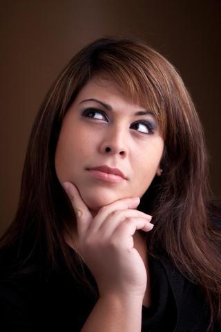 Woman pondering 1