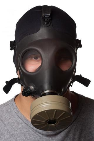 Guy with Gas Mask